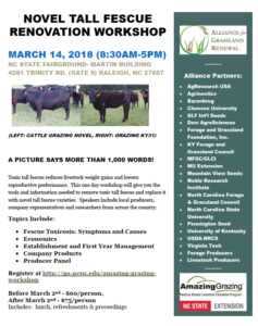 Cover photo for Fescue Workshop - March 14
