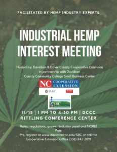 Cover photo for Industrial Hemp Interest Meeting