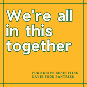 Cover photo for Food Drive to Benefit Davie Food Pantries