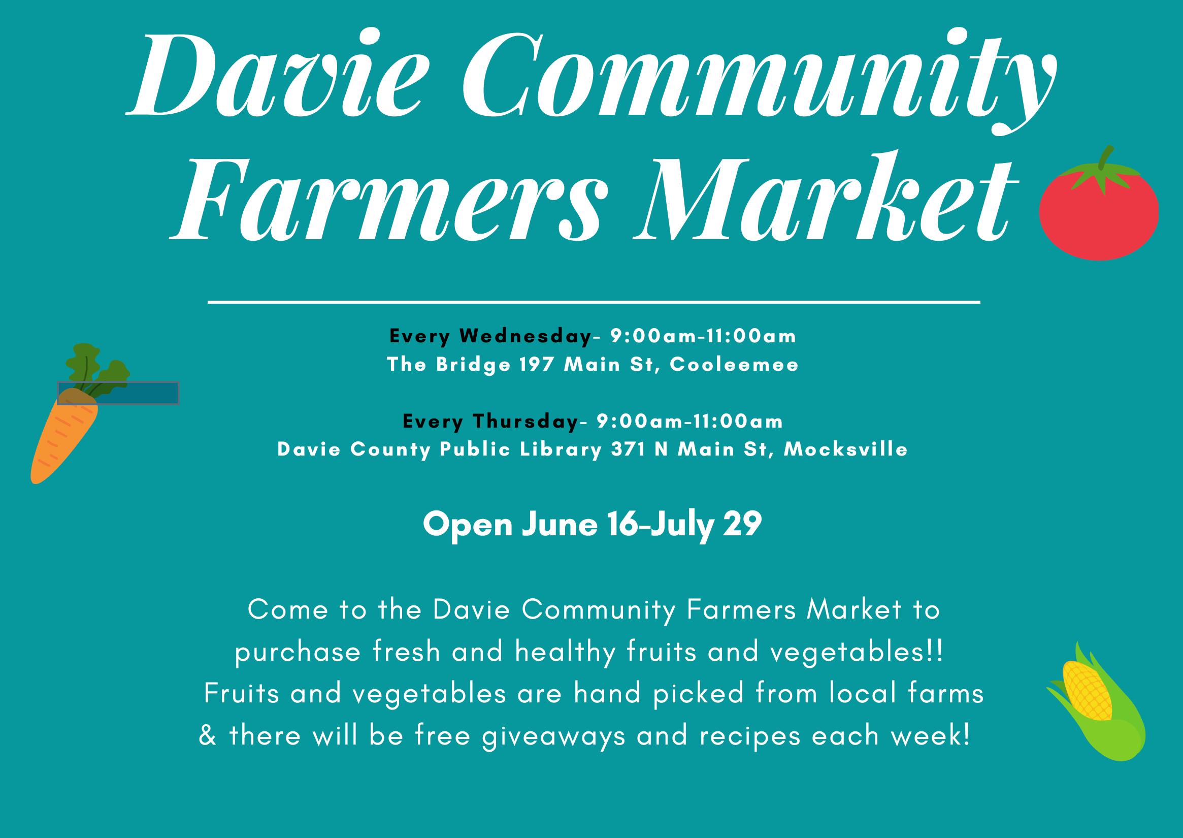 Farmers Market banner image