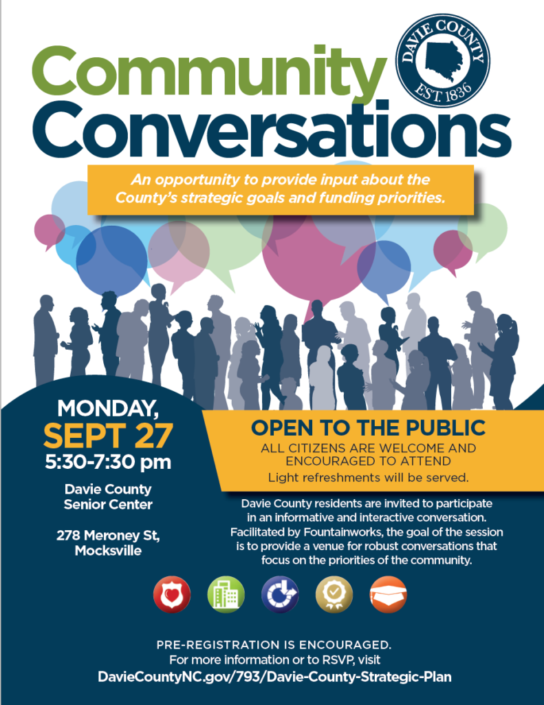 Community Conversations flyer image